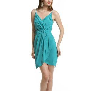 Jayne Tulip Dress by Yumi Kim in Teal/Turquoise